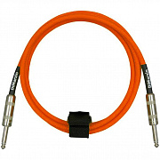 DIMARZIO INSTRUMENT CABLE 10` NEON ORANGE EP1710SSOR