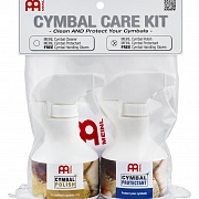 MEINL MCCK-MCP Cymbal Care Kit with MCP + MCPR + Free MEINL Cymbal Handling Gloves