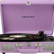 CROSLEY CRUISER DELUXE [CR8005D-LA] Lavender c Bluetooth Виниловый проигрыватель