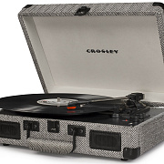 CROSLEY CRUISER DELUXE [CR8005D-HB] Herringbone Виниловый проигрыватель c Bluetooth