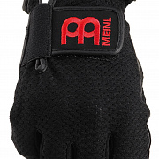 MEINL MDGFL-M Drummer Gloves,finger-less, black, medium, pair