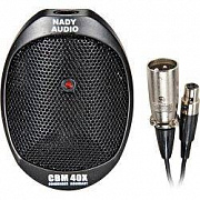 Nady CBM 40X, 30-20000, 38, 250, SPL 130 , 9-52 , mini-XLR Female, 4.8 mini-XLR - XLR.