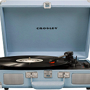 CROSLEY CRUISER DELUXE [CR8005D-TN] Tourmaline c Bluetooth Виниловый проигрыватель