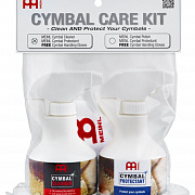 MEINL MCCK-MCCL Cymbal Care Kit with MCCL+ MCPR + Free MEINL Cymbal Handling Gloves